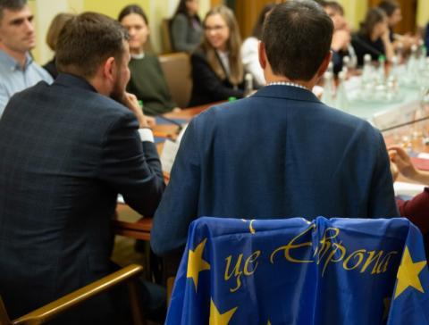 Володимир Зеленський зустрівся з учасниками Євромайдану