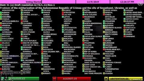 Генасамблея ООН ухвалила другу резолюцію про мілітаризацію Криму