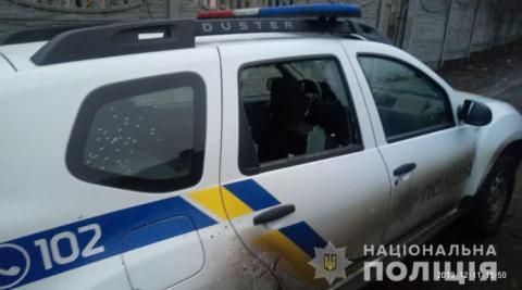"""Під Києвом обстріляли автівку поліцейських: введено спецоперацію """"Грім"""""""