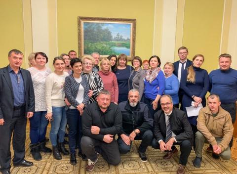 В Офісі Президента відбулося засідання робочої групи з питань зниклих безвісти та заручників