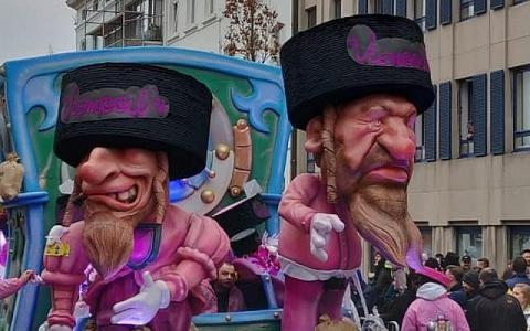 Бельгійський карнавал виключили зі списку ЮНЕСКО через звинувачення в антисемітизмі