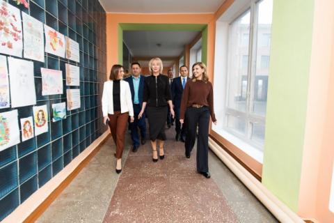 Олена Зеленська відвідала школи Черкащини