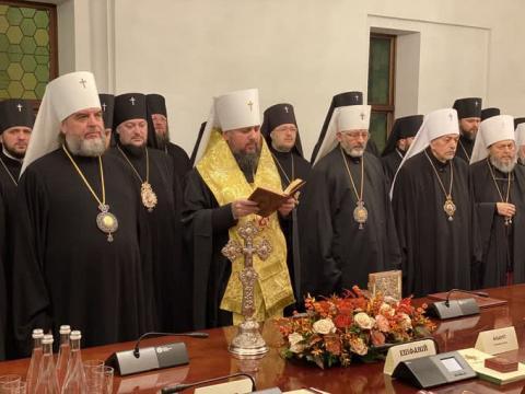 Створення єдиної помісної церкви: У ПЦУ зібралися на архієрейський Собор