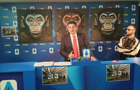 В Італії критикують кампанію по боротьбі з расизмом, в якій використали мавп