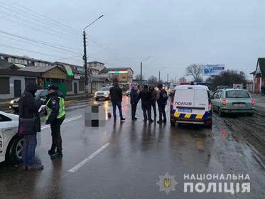 У Борисполі поліцейське авто на смерть збило чоловіка