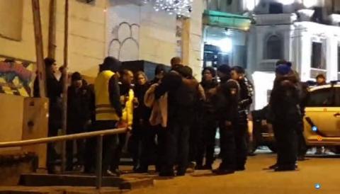 У центрі Києві проводять слідчий експеримент у справі Шеремета