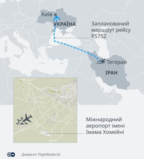 Компанія зі США передала слідчим уточнені дані про катастрофу літака МАУ