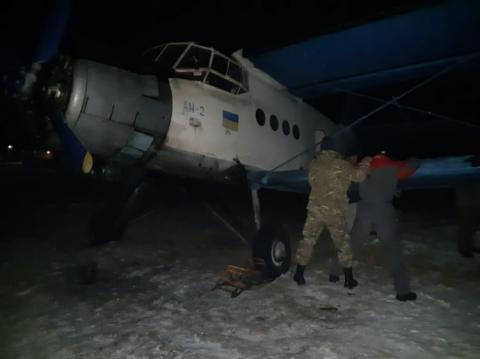 Прикордонники затримали літак, що возив контрабанду до ЄС