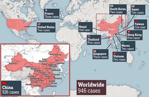 Коронавірус у Європі: У Франції підтвердили перші три випадки