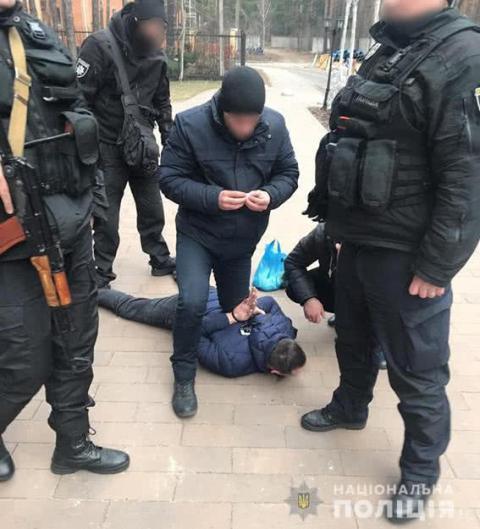 Бойовик ОРДО поранив поліцейського у Києві