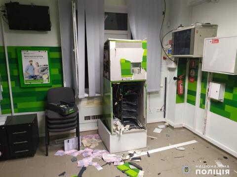 У Миколаєві підірвали банкомат і викрали чверть мільйона