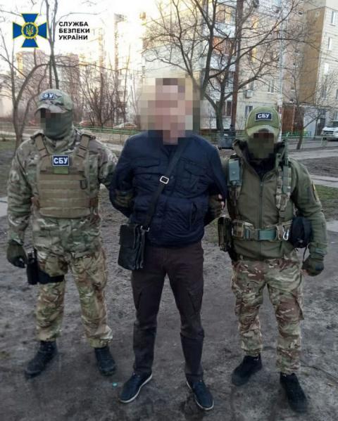 """СБУ затримала колишнього співробітника МВС, який працював на """"ЛНР"""""""