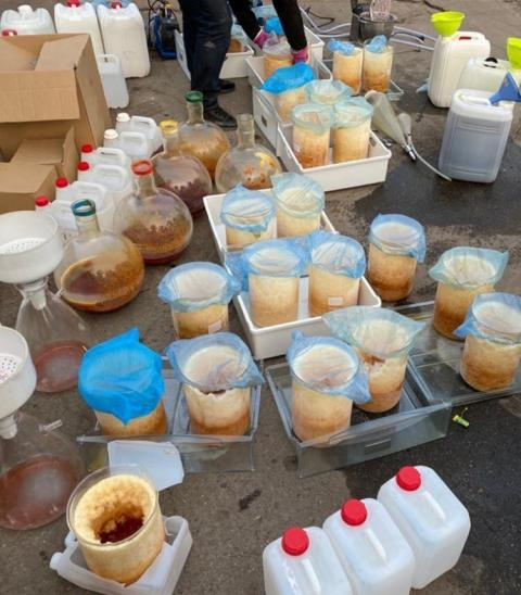 Поліція вилучила наркотиків на 110 мільйонів гривень