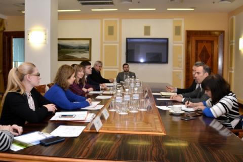 Відбулась зустріч представників Міністерства інфраструктури України з представниками Міжнародної фінансової корпорації