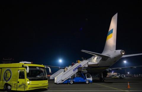 Президентським літаком евакуювали 33 українці, які не змогли виїхати з Австрії