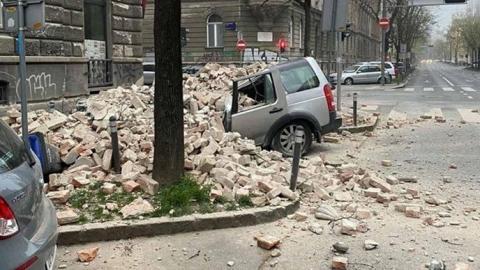 Два землетруси у Загребі: пошкоджені будівлі і головний собор Хорватії