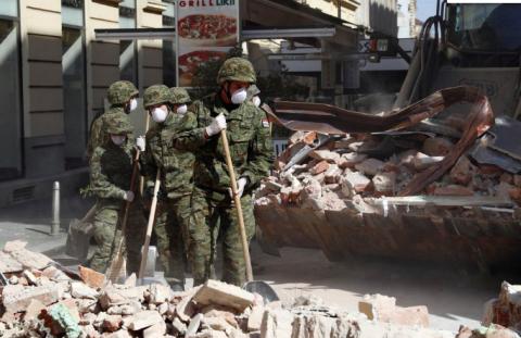 Від сильного землетрусу в Хорватії постраждали 17 людей