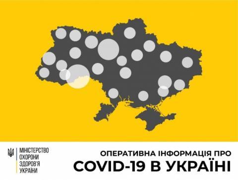 В Україні виявили вже майже 900 заражених коронавірусом