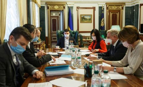 Уряд та НБУ представили Президенту перші програми допомоги малому бізнесу на час епідемії COVID-19