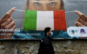 В Італії кількість хворих на коронавірус знизилася до менше 100 тисяч