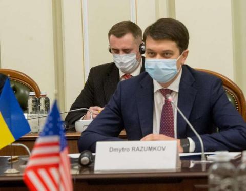 Для нас важливо та принципово продовжувати розпочаті реформи, - Дмитро Разумков