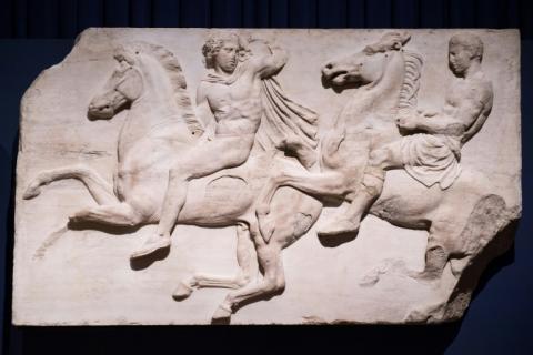 Греція знову просить Лондон повернути мармури Парфенона