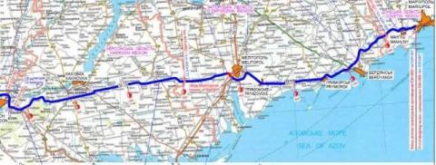 Відбулась онлайн-презентація результатів роботи з розробки попереднього ТЕО покращення автомобільної дороги М-14 на ділянці Херсон – Маріуполь