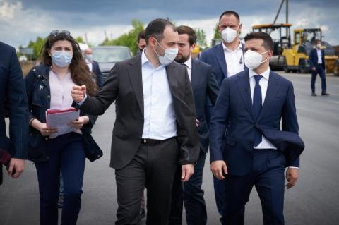 Президент оглянув проекти «Великого будівництва» на Хмельниччині