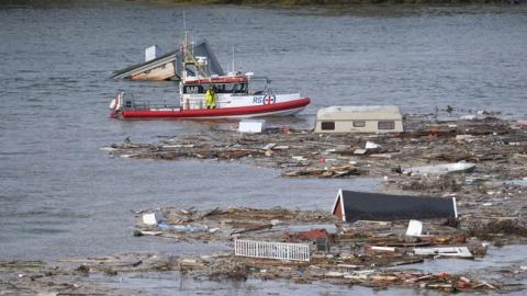 У Норвегії внаслідок зсуву у море змило 8 будинків