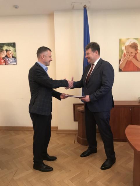 Микола Кулеба обговорив з головою Житомирської ОДА питання захисту прав дітей