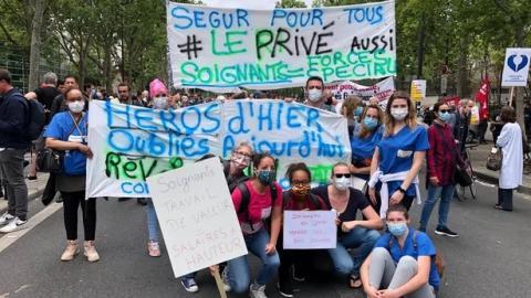 У Франції медики відновили протести, вимагаючи збільшити фінансування