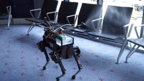 У британському Лідсі для дезінфекції вулиць використають роботів