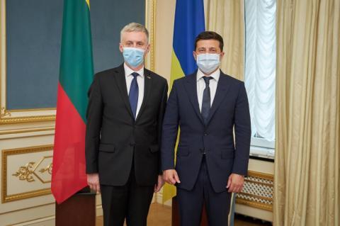 Президент України прийняв вірчі грамоти у послів Данії, Афганістану, Литви, Чорногорії та Саудівської Аравії