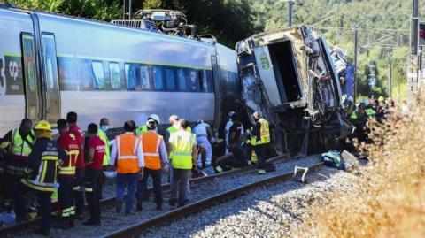 В Португалії зазнав аварії швидкісний потяг: 2 загиблих, десятки поранені