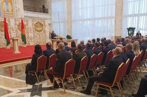 У Мінську відбулася таємна інавгурація Лукашенка