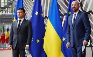 Зеленський в Брюсселі переконував, що Україна є майбутнім членом ЄС