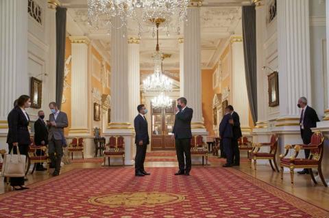 Володимир Зеленський провів у Лондоні зустріч з найбільшими інвесторами в українські державні цінні папери