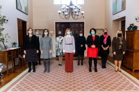 Олена Зеленська зустрілася з жінками – послами іноземних держав в Україні