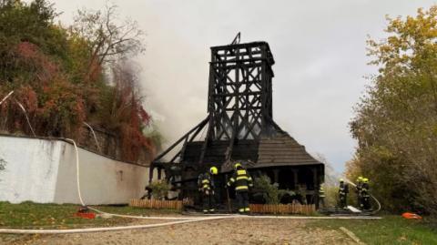 У Празі збиратимуть кошти на відновлення згорілої української церкви