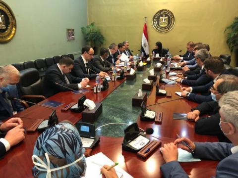 Заступник керівника Офісу Президента Ігор Жовква під час робочого візиту до Єгипту провів низку зустрічей для активізації двосторонньої співпраці