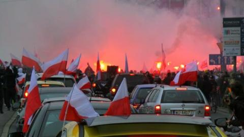 Марш незалежності у Варшаві: сутички із поліцією і заблоковані дороги