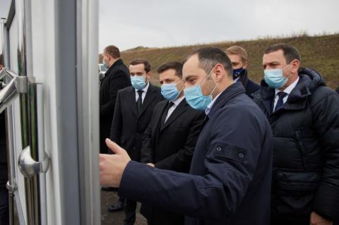 Главадержави ознайомився з об'єктами «Великого будівництва» на Дніпропетровщині