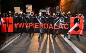 У Польщі третій вечір поспіль протестували проти заборони абортів