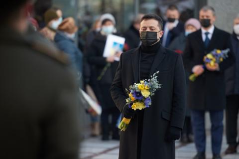 Президент вшанував пам'ять військовослужбовців, які загинули за незалежність України