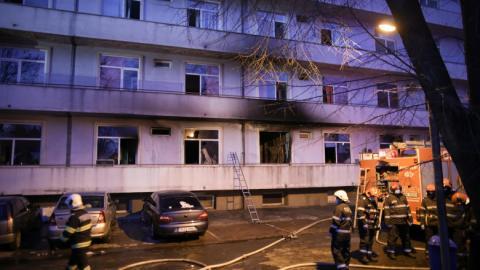 У Румунії знову сталася пожежа у коронавірусній лікарні, 4 загиблих