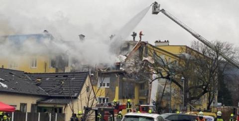 На місці вибуху в багатоквартирному будинку поблизу Відня знайшли загиблого