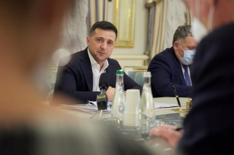 Президент України зустрівся з послами країн G7 та Євросоюзу