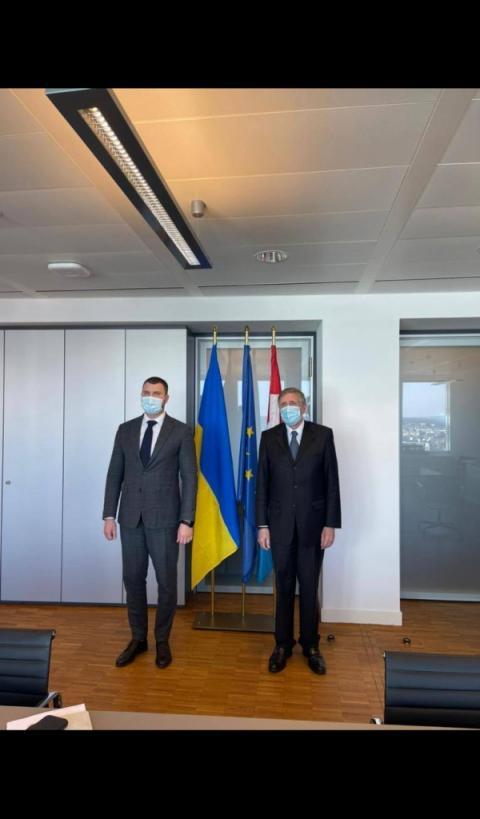 Україна відкрита для реалізації спільних проєктів з Люксембургом, - Владислав Криклій