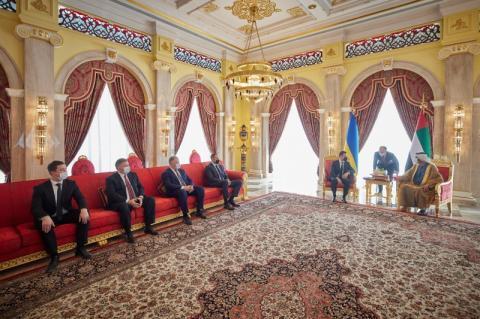 Президент України зустрівся з Прем'єр-міністром Об'єднаних Арабських Еміратів