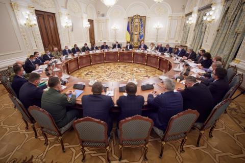 РНБО запровадила санкції й підготувала Стратегію деокупації та реінтеграції Криму і Севастополя